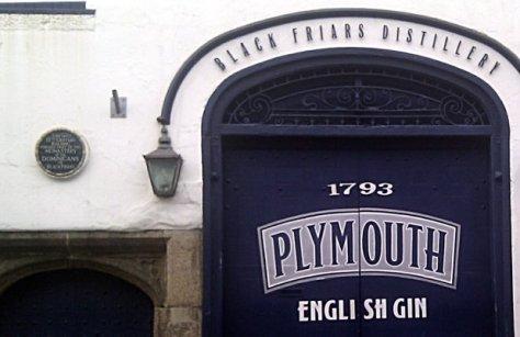Plymouth Gin Distillery, Devon, UK.