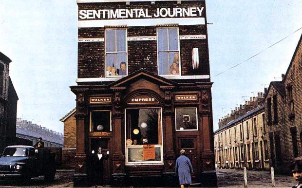 Ringo Starr's Sentimental Journey album.