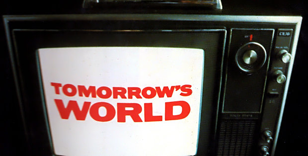 Tomorrow's World on TV.