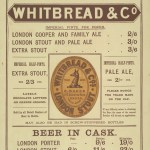 Advertisement for Whitbread bottled beer, 1888.
