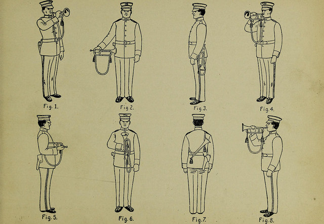 Trumpet instructions.