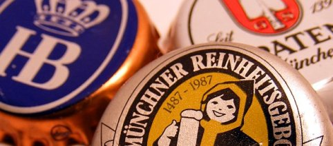German beer caps.