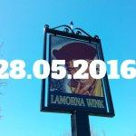 Sign of the Lamorna Wink, Lamorna, Cornwall.