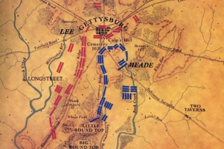 gettysburg battle map c1a786476d43d9b7a4d604f929e88997