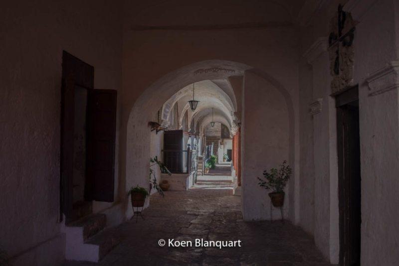 The halls of the Monasterio de Santa Catalina