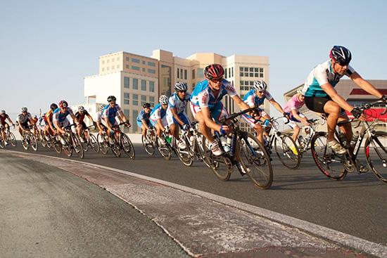 Dubai cycling bicycle race track