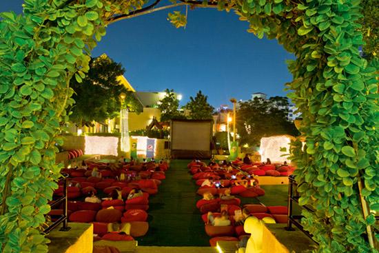 Pyramids at Wafi, Outdoor cinemas in Dubai, best Outdoor cinemas in Dubai