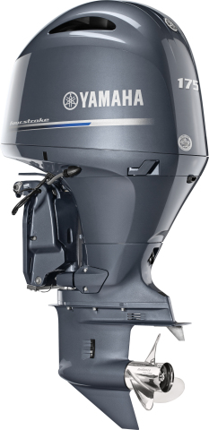 Yamaha's new F175 outboard (Photo: Business Wire)