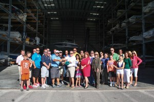 The Boat House celebrates the grand opening of its 154-space dry dock at its original location in Cape Coral, Florida.