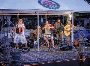 Laurel Marina expanded its music season to include more entertainment on Saturday nights, which helps keep customers at the marina.