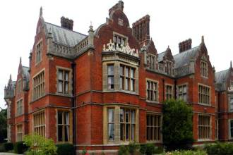 Suitably spooky site for a psychic school: Arthur Findlay College in Essex, England.