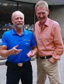 Card cheat Richard Turner, and pickpocket Bob Arno