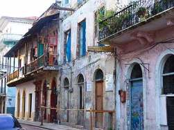 Properties in San Filipe, a World Heritage Site, are being purchased and restored by foreigners.