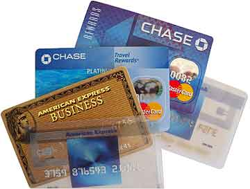 stolen credit card fraud implements