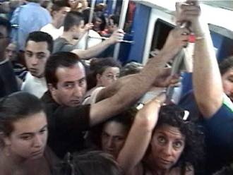 Pickpockets on trains