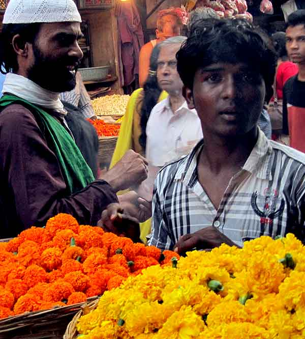 Mumbai flower boy