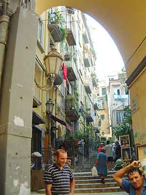 How could charming streets like this hint at their hidden dangers?