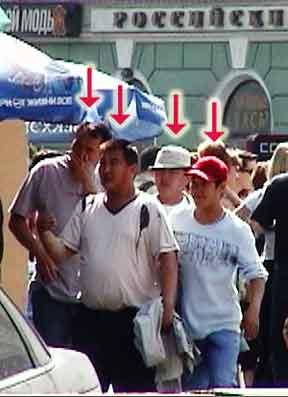 St. Petersburg pickpockets