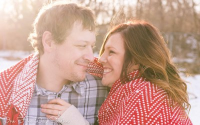 Rockford Engagement Session: Amy + Dan