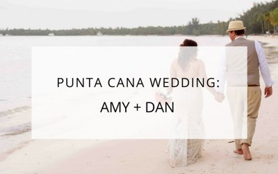 Punta Cana Barcelo Bavaro Beach Destination Wedding: Amy + Dan