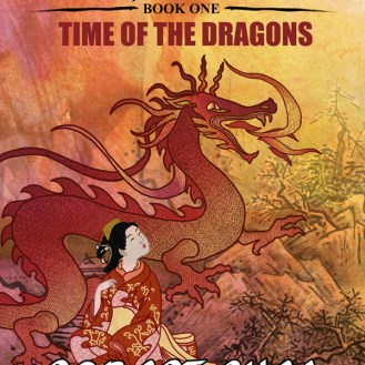 "bc cover art: ""Shike - Book One - Time of the Dragons"" by Robert Shea"