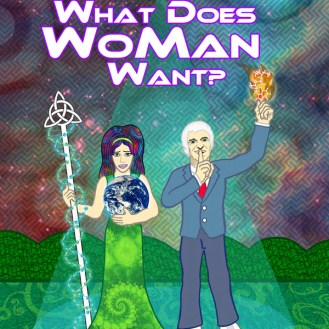 "bc cover art: ""What Does Woman Want"" by Timothy Leary"