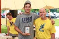 Steve Hardy and 5K Winner Tyler Dinnan