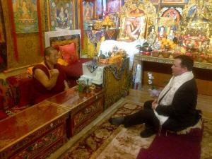 Tibetan wisdom to Multiculturalism Minister Kenney: go left. (Twitter)