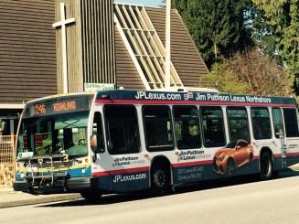 TransLexus: Pattison flogs cars on bus
