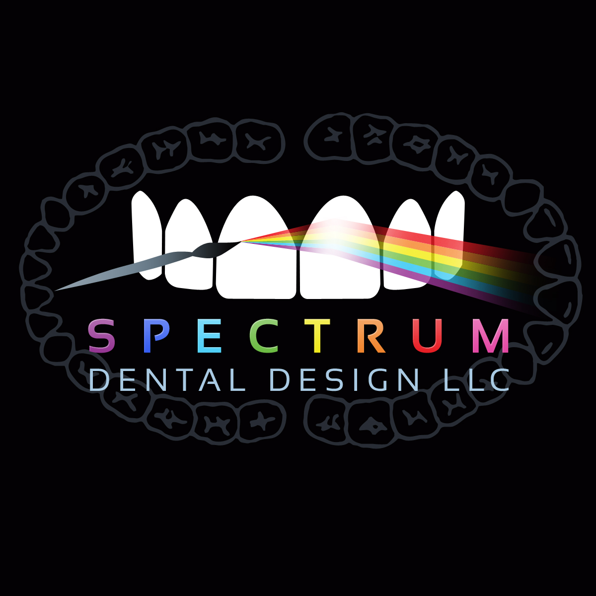 LOGO DESIGN - Spectrum Dental Lab Anchorage Alaska