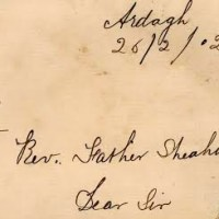 A letter to an Irish priest from a parishioner, 1902