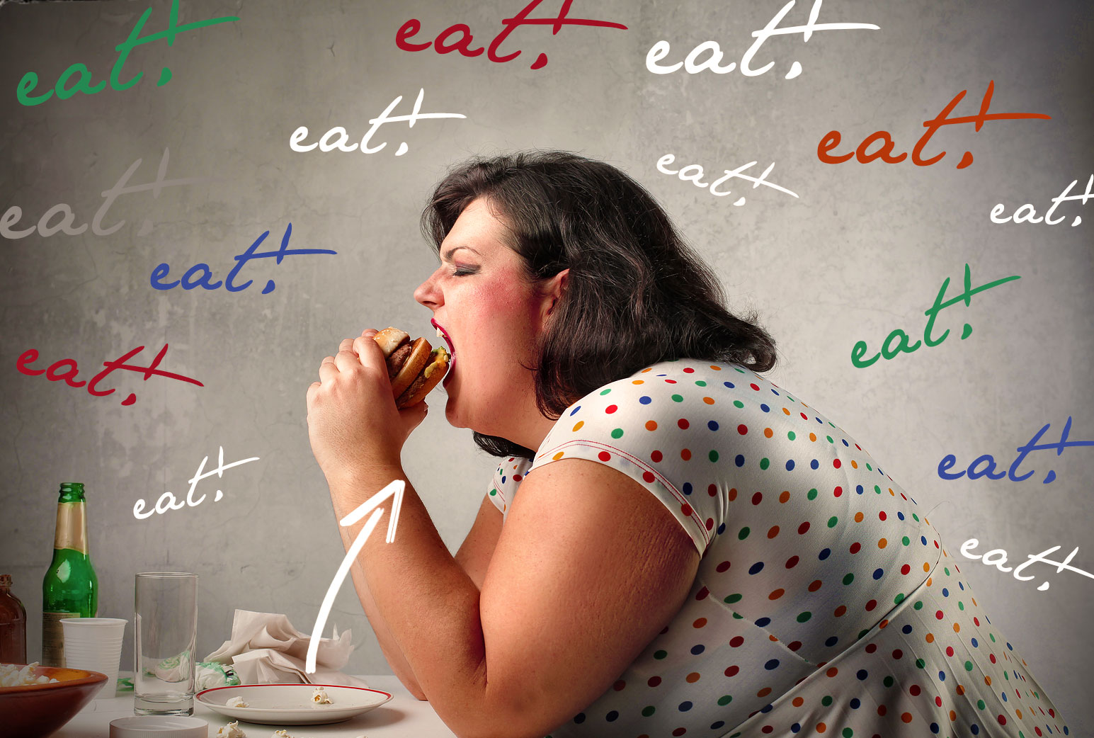 IS YOUR FOOD PLATE COLOR MAKING YOU FAT?