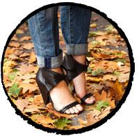 Cone-Heel-Different-Kinds-of-Shoe-Heel-Styles