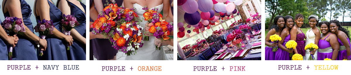 Purple-as-a-primary-wedding-color