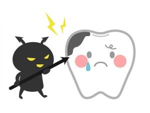 虫歯で歯の神経が腐る