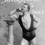 Eugen Sandow, le père du bodybuilding