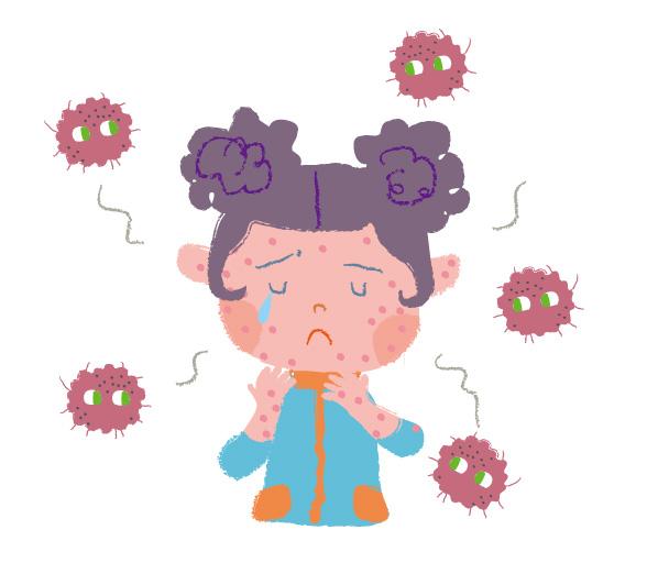 妊娠中に風疹にかかったら?抗体8は危険?妊活前に旦那も予防接種を!