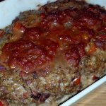 baked Low Carb Paleo Meatloaf Italian