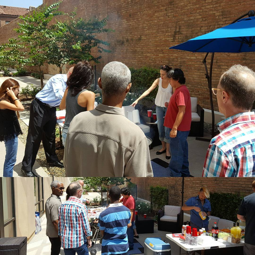 Thanks Epic Spaces for hosting the cookout this afternoon