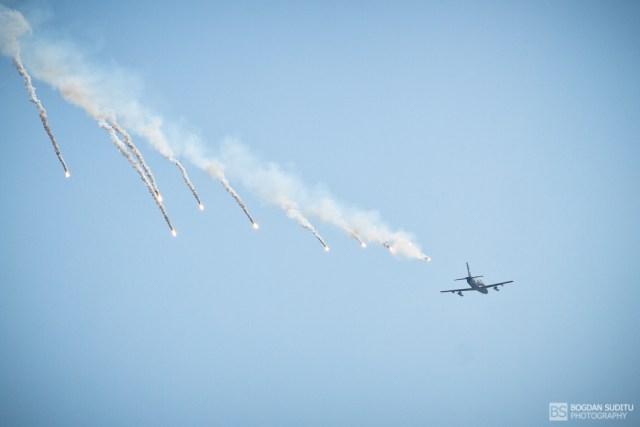 Flares - Otopeni Air Show 2011