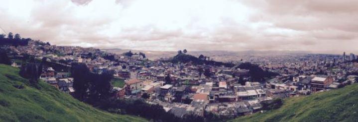 bogota view from barrio egipto