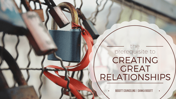 Creating Great Relationships