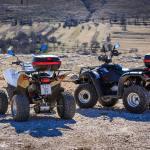 Boho travel art ATV quad safari