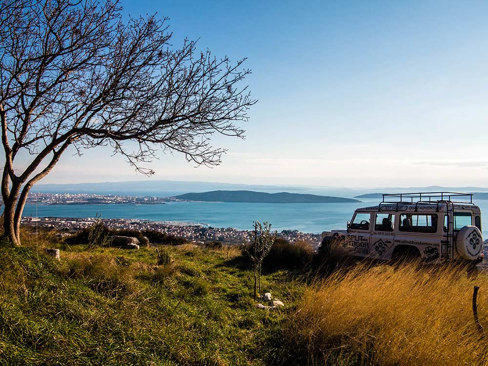 JEEP TOUR! Jeep safari Dalmatian Hinterland