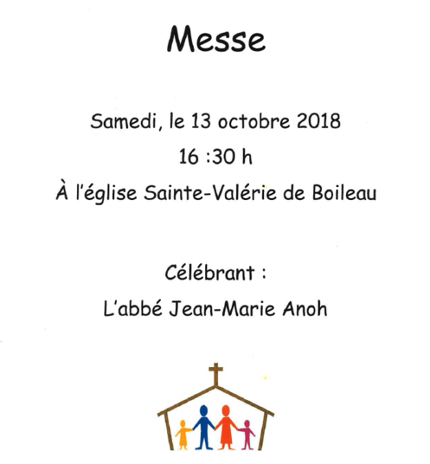 2018 Messe octobre