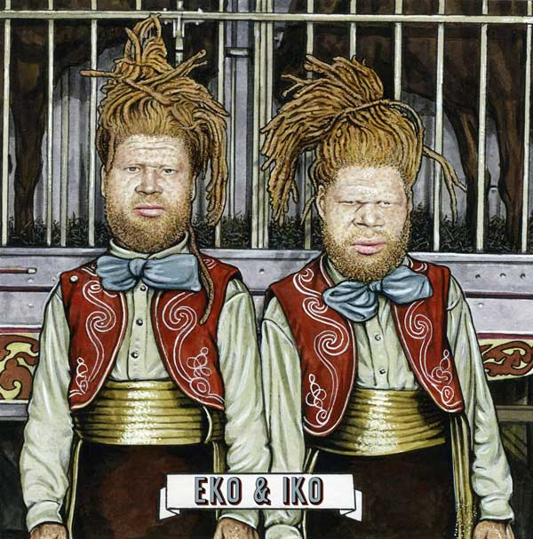 The Albino Twins We're Not Going For It / Get Busy Get With It