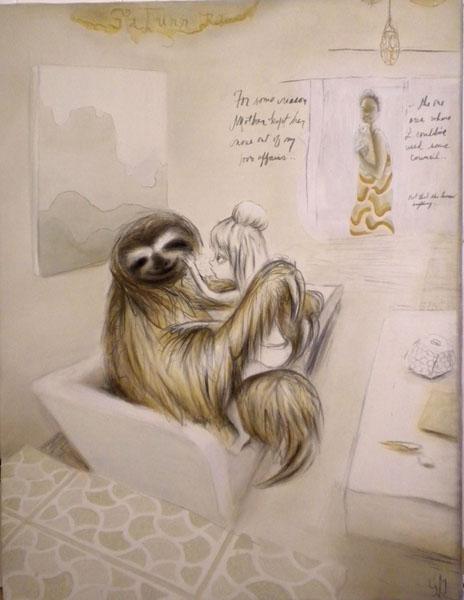 """Georganne Deen - """"Saturn Return (Sloth)"""""""