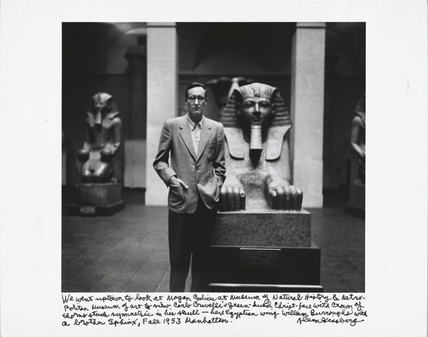 Allen ginsberg william burroughs and sphinx 1953