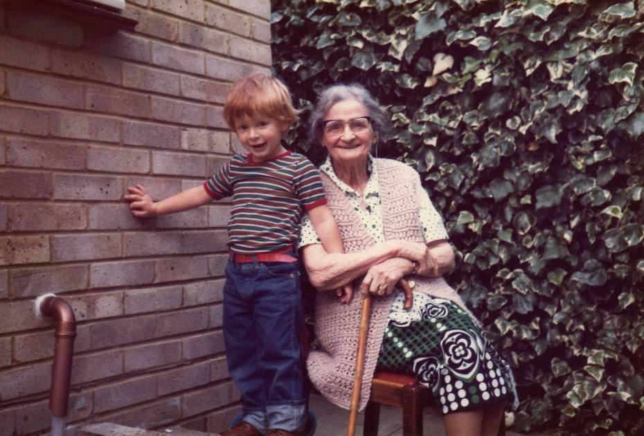 Rob and his grandmother