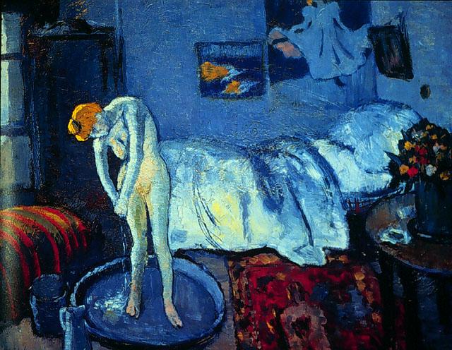 Picasso, Pablo The Blue room 1901
